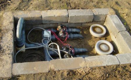 Beregeningsinstallatie, sproeiers, leidingen, aanleg, tuinaanleg